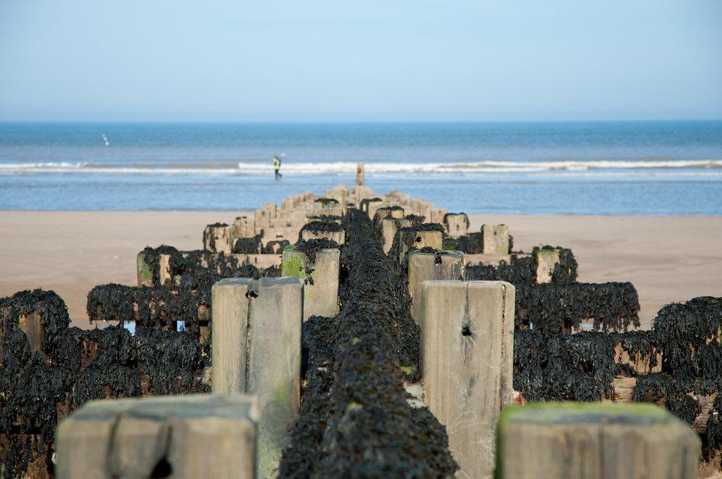 Overstrand beach defences